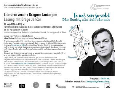 0 Jancar Vabilo Einladung