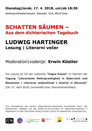 Hartinger-Werkraumfheater -plakat