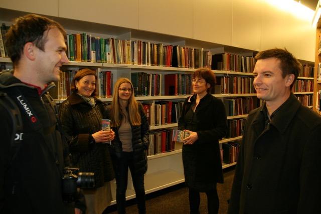 Prireditve v sklopu Slovenske čitalnice v letu 2014