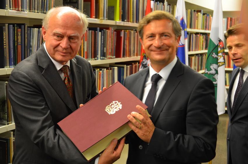 6. Juni 2013 | Feierliche Eröffnung des Slowenischen Lesesaals